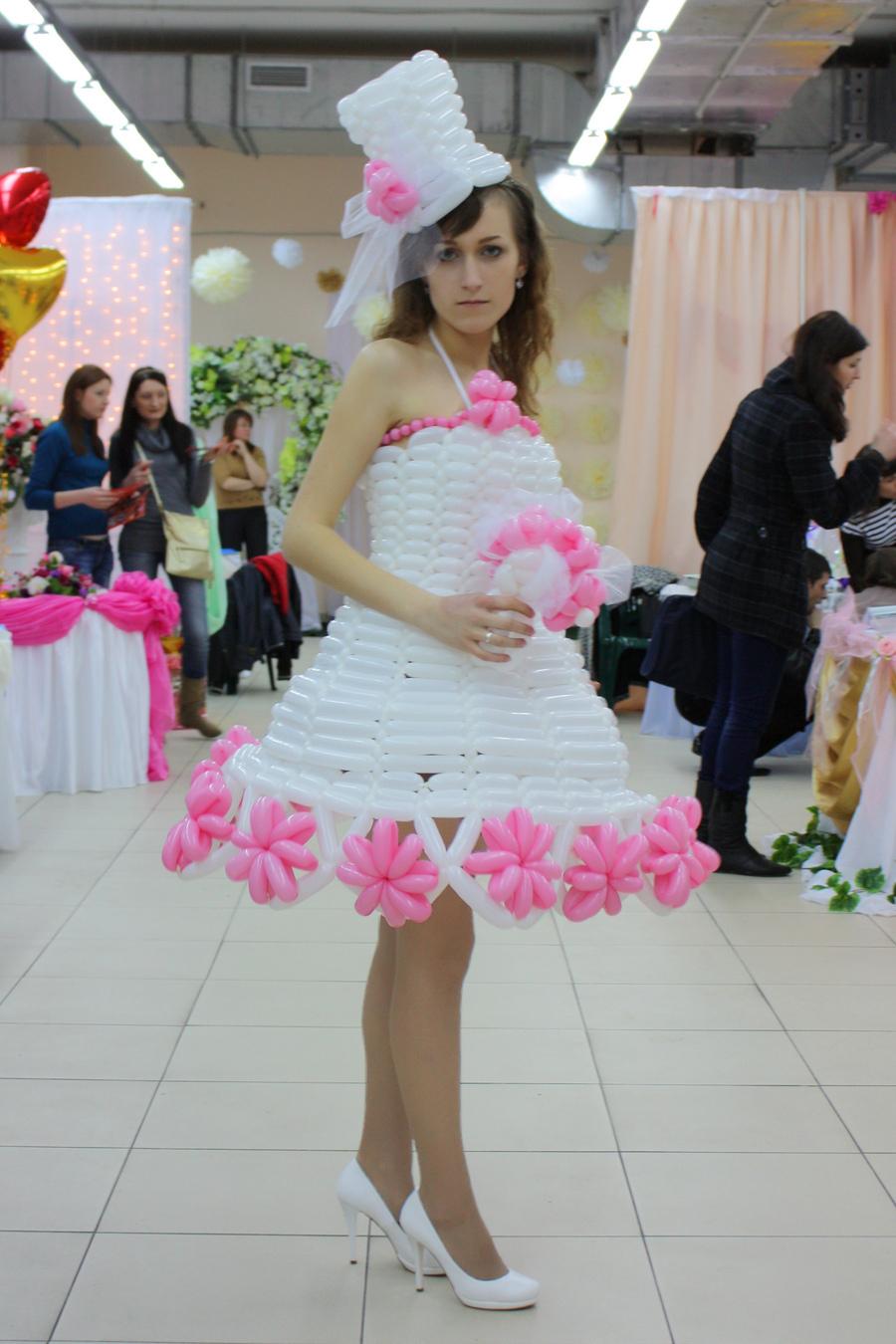 Платье Из Пакетов Доставка