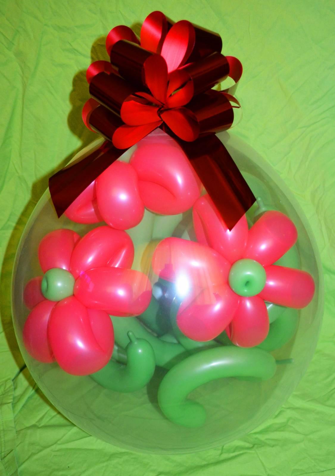 Фото подарки из воздушных шаров 42